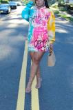 Casual trendy printed hoodies MTY6392