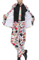 Halloween Party Clown Costume For Men A Suit PS4488