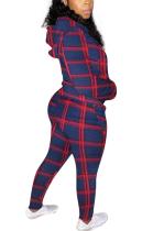 Casual Modest Simplee Pop Art Print Long Sleeve Hoodie Capris Pants Sets F8301