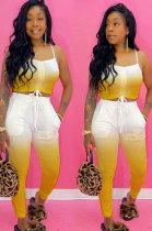 Casual Sling Midriff Pocket Sexy Fashion Sets YR8014