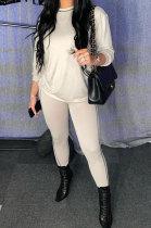 Pure Color Womenswear Two-Piece Club Fashion Casual Sets YR8033