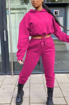 Casual Sporty Long Sleeve Hoodie Long Pants Sets YYF8138