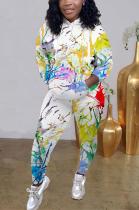 Casual Sporty Simplee Long Sleeve Hoodie Long Pants Sets MTY6351