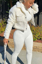 Piush Womenswear Pure Color Autumn Winter Coat AA5204