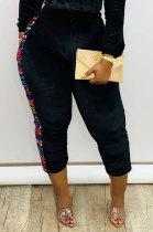 Fashion Casual Sequins Pleuche Long Pants DMM8159