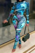 Sexy Perspective Net Yarn Two-Piece Womenawear Jumpsuits CYF3730