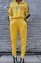 Casual Sporty Long Sleeve Stand Collar Long Pants Sets ZZS8315