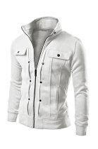 Outdoor Casual Man Coat Fashion Zipper Cardigan Jacket Multi FT70