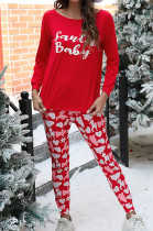 Casual Home Wear Long-sleeved Ladies Christmas Suit NS7924