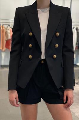 Pure Color Fashion Casual Suit Jacket QZZ9287