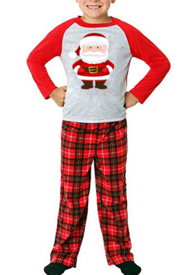 Chrisrnas Pribting Parent-Child Outfit LBY976