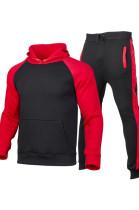Autumn And Winter Men's Sweatshirt Hooded Velvet Suits MID100512