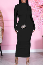 Fashion Backless Long Slevee With Gloves Long Dresses K2034