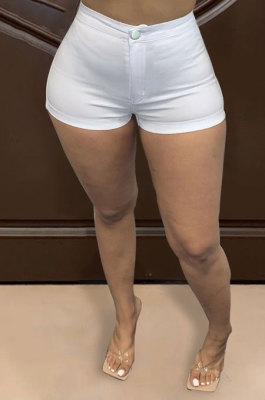 Elastic Force Shorts Cultivate One's Morality Women Shorts WE8220