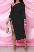 Women Sexy Euramerican Prue Color Dresses MTY6507