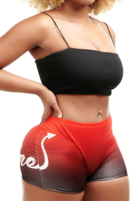 Tight Thin Sechion Shorts Mid Waist Sexy Ieggings H1621