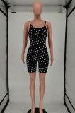 Slip Sexy Trendy Polka Dot Romper Shorts SMY8076