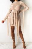 Womenswear Sexy Net Yarn Mini Dress MTY6506