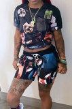 Fashion Sexy Black Shorts Sets AB6616