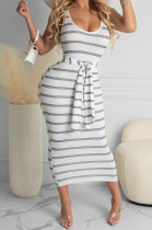 Casual Fashion Sexy Stripe Dresses LYY9286
