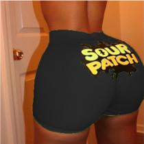 Sexy Tight Pattern Printing Yoga Shorts SDD9484