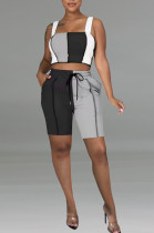 Casual Cultiveta One's Morality Vest Joining Together Two-Piece TK6155