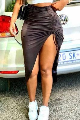 Fashion Black Soft Skirts BLE2272