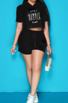 Casual Sport Letter Print Two-Piece CCN1839