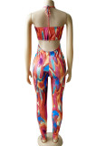 Night Club Sexy Tie Dye Sling Jumpsuit WM2148
