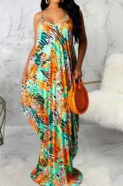 Sexy Fashion V Neck Loose Sling Dress SMR10020