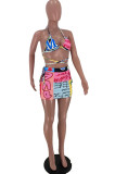 Fashion Print Bind Swimsuits Bikini Two-Piece ARM8260