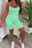 Sexy Tight Bind Gallus Romper Shorts GL6373
