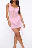 Euramerican Fashion Stretch Net Yarn Dress SMR10024