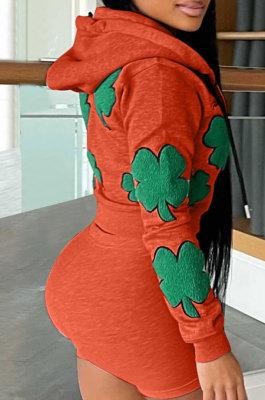Fashion Printing Pattern Casual Sport Shorts Sets QQ5239