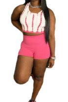 Printing Sleeveless Vest Shorts Sets RB3161