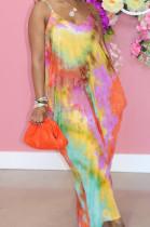 Euramerican Fashion Loose V Neck Sling Dress SMR10208_1