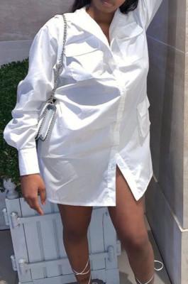 Euramerican Sexy Tooling Pocket Shirt Dress C3048