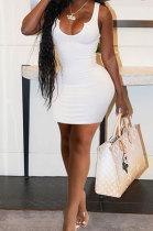 Women Condole Belt Vest Deep V Neck Pit Cloth Cultivate One's Morality Sexy Mini Dress GHH047