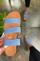 Summer Casual Comfortable  Hollow Flat Sandals XK8033