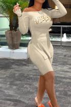 Fashion Summer Pure Color Open Fork Long Sleeve Shorts Sets SDE3110