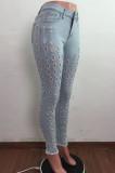 Euramerican Wash Water Hole Stretch Cowboy Long Pants LA3270