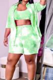 Fashion Tie Dye Summer Casual Three Piece H1662