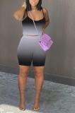 Summer Women Fashion Glide Halter Shorts Sets HT6068
