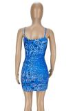 Summer Casual Women Print Slip Dress ANK6017