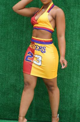 Euramerican Fashion Basketball Clothes Vest Short Skirts Sets T222