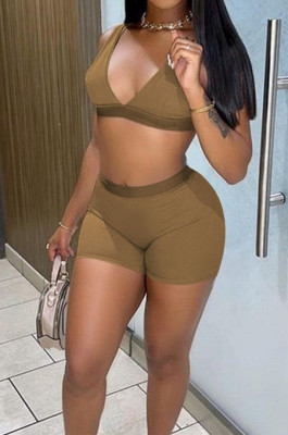 Summer Fashion Casual Beach Sport Vest Sets F88371