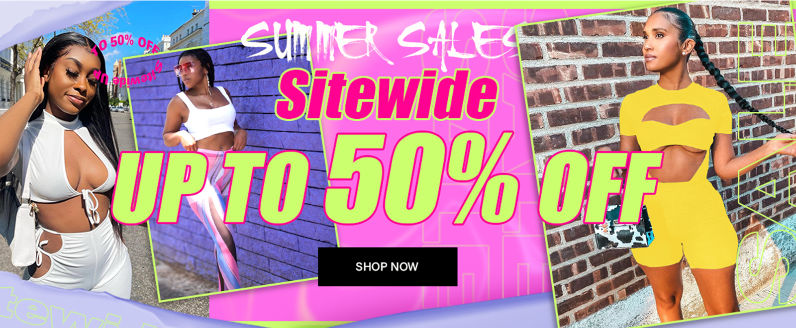 Summer Sales, don't miss out~