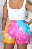Multi Fashion' Sexy Hole Tie Dye Jeans Shorts SMR2584