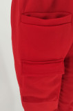 Streetwear High Waist Tracksuits Stacked Joggers Sweatpants
