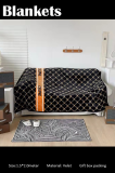 Velvet Material Blankets Size 1.5*2.0 meter Gift Box Packing